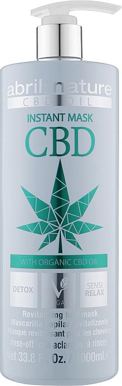 Детокс-маска для волос с конопляным маслом - Abril et Nature CBD Cannabis Oil Elixir