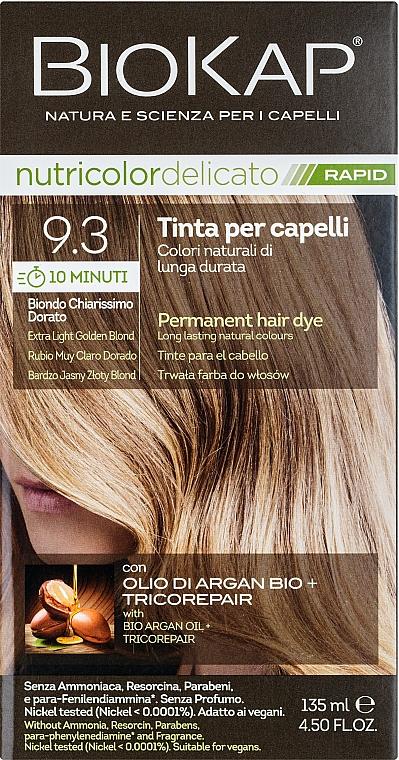 Краска для волос - BiosLine Biokap Nutricolor Delicato Rapid