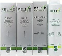 Духи, Парфюмерия, косметика Набор - Green Light Relive Scalp Wellness (sh/250ml + fluid/150ml + drops/2x100ml)
