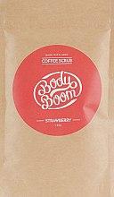 Духи, Парфюмерия, косметика Кофейный скраб, клубничный - Body Boom Coffee Scrub Strawberry