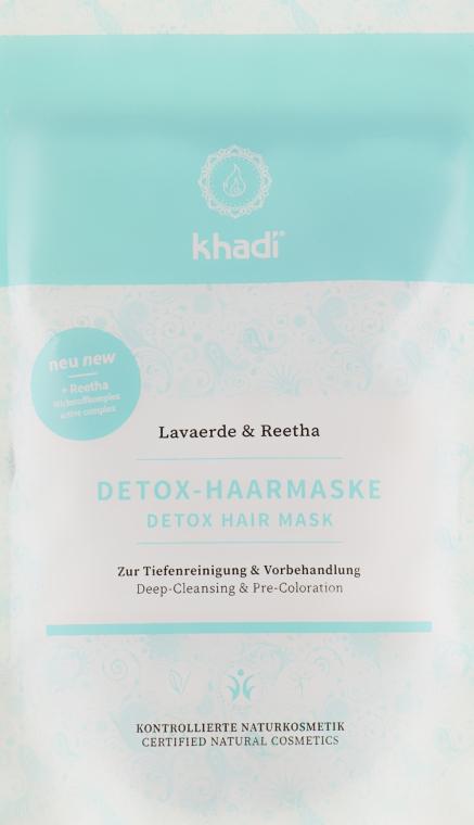 Детокс-маска для волос для очищения и детоксикации - Khadi Detox Hair Mask