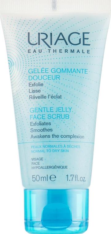 Мягкий скраб для лица - Uriage Gentle Jelly Face Scrub