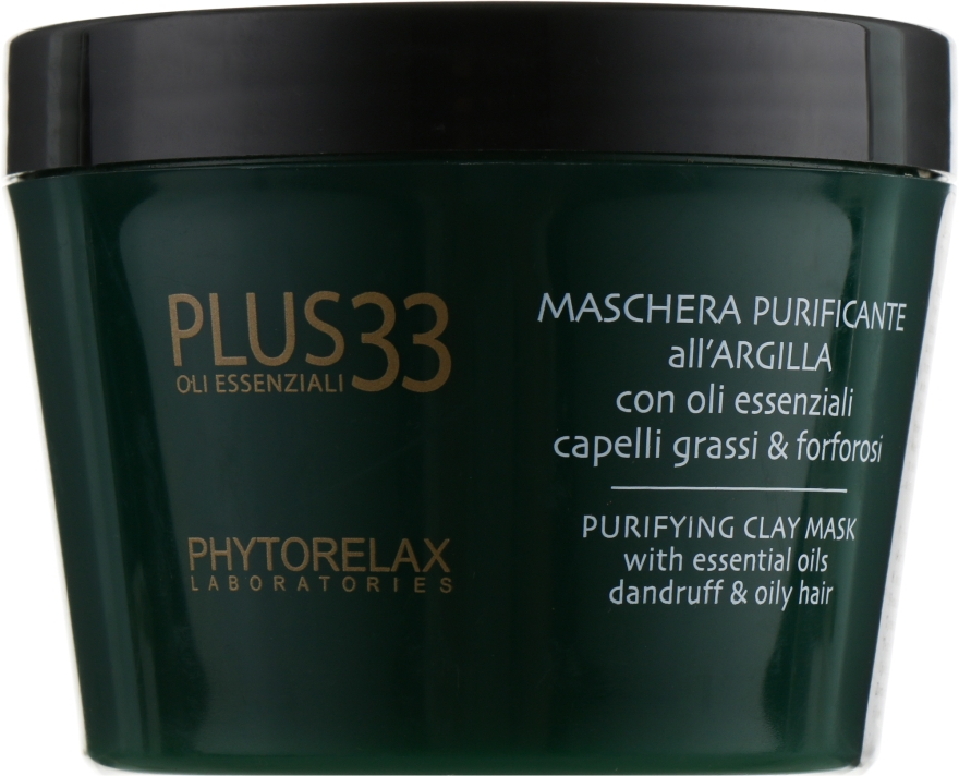 "Очищающая капиллярная маска ""Dermo Purifying"" - Phytorelax Laboratories Plus 33 Dermo Purifying Mask"