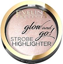 Духи, Парфюмерия, косметика Хайлайтер для лица - Eveline Cosmetics Glow and Go! Strobe Highlighter