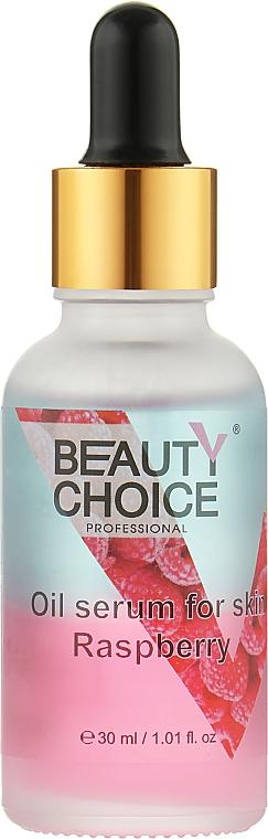 Двухфазное масло-сыворотка для кожи, малина - Beauty Choice Oil Serum For Skin Raspberry