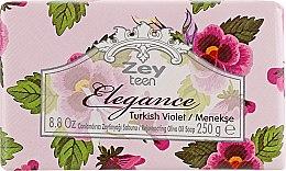 """Духи, Парфюмерия, косметика Натуральное оливковое мыло """"Фиалка"""" - Olivos Zey Teen Elegance Violet Soap"""