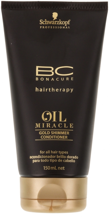 Кондиционер для волос - Schwarzkopf Professional ВС Bonacure Oil Miracle Gold Shimmer Conditioner