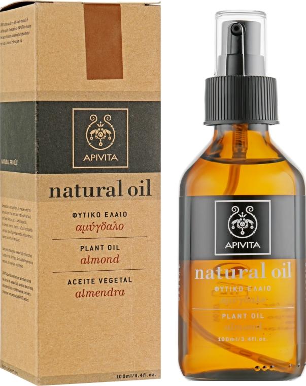 Натуральное масло миндаля - Apivita Aromatherapy Organic Almond Oil