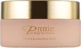 "Духи, Парфюмерия, косметика Масло для тела ""Миндаль и Лотос"" - Premier Almond & Lotus Body Butter"