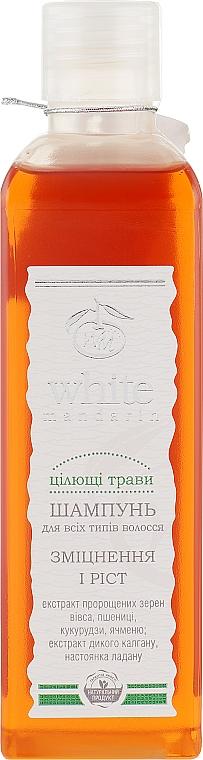 """Шампунь для волос """"Целебные травы"""" - White Mandarin"""