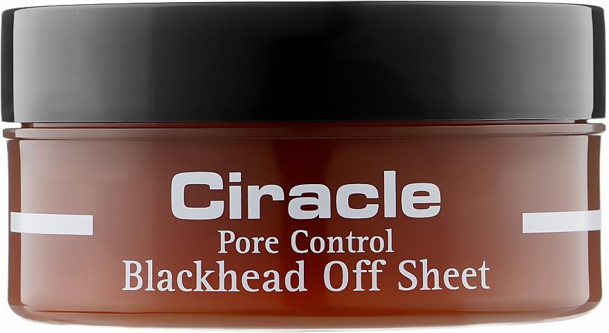 Салфетки для удаления черных точек - Ciracle Pore Control Blackhead Off Sheet