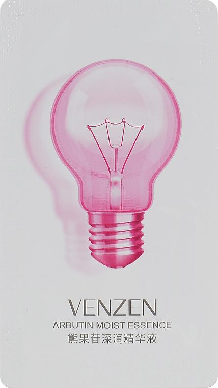 Осветляющая сыворотка для лица - Venzen Arbutin Moist Essencw Create Translucent Smooth Skin