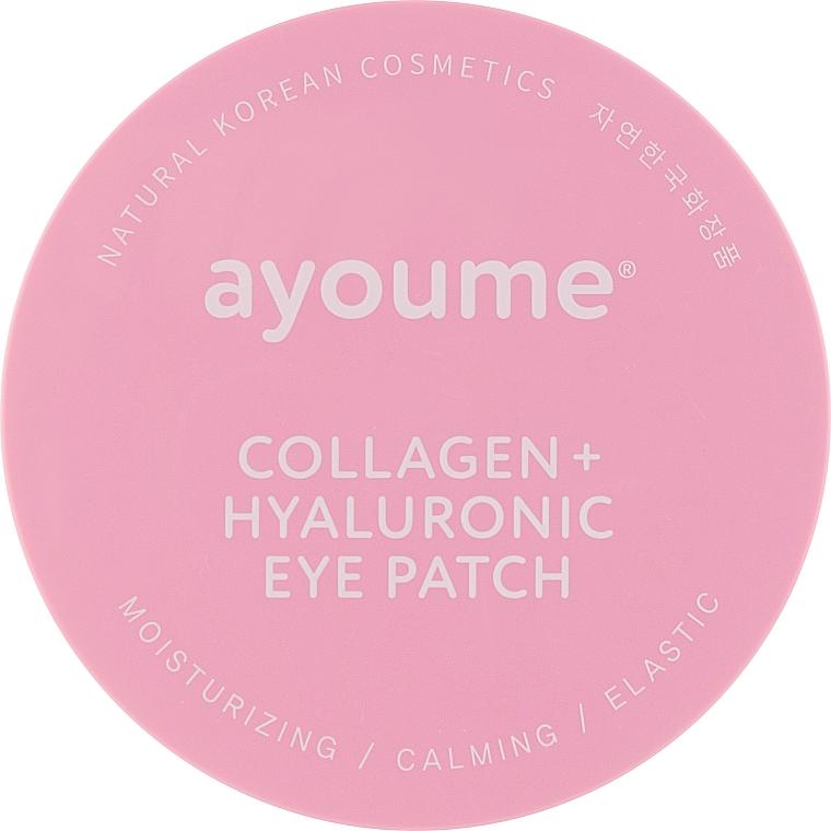 Патчи под глаза с коллагеном и гиалуроновой кислотой - Ayoume Collagen + Hyaluronic Eye Patch