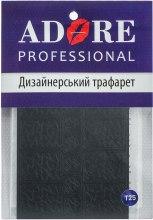 Духи, Парфюмерия, косметика Дизайнерский трафарет для ногтей - Adore Professional
