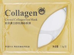 Духи, Парфюмерия, косметика Гидрогелевые патчи с коллагеном - Bioaqua Crystal Collagen Eye Mask