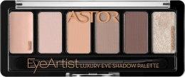 Духи, Парфюмерия, косметика Тени для век - Astor Eye Artist Luxury Eye Shadow Palette