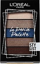 Духи, Парфюмерия, косметика Палетка теней для век - L'Oreal Paris La Petite Palette Stylist Eyeshadow