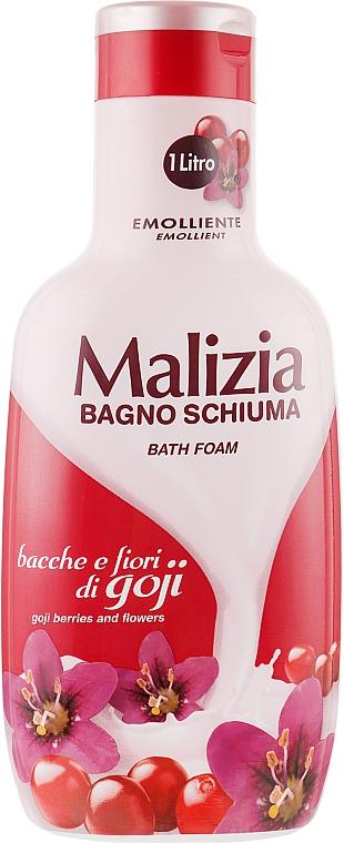 "Пена для ванны ""Ягоды и цветы годжи"" - Malizia Bath Foam Goji Berries and FLowers — фото N1"