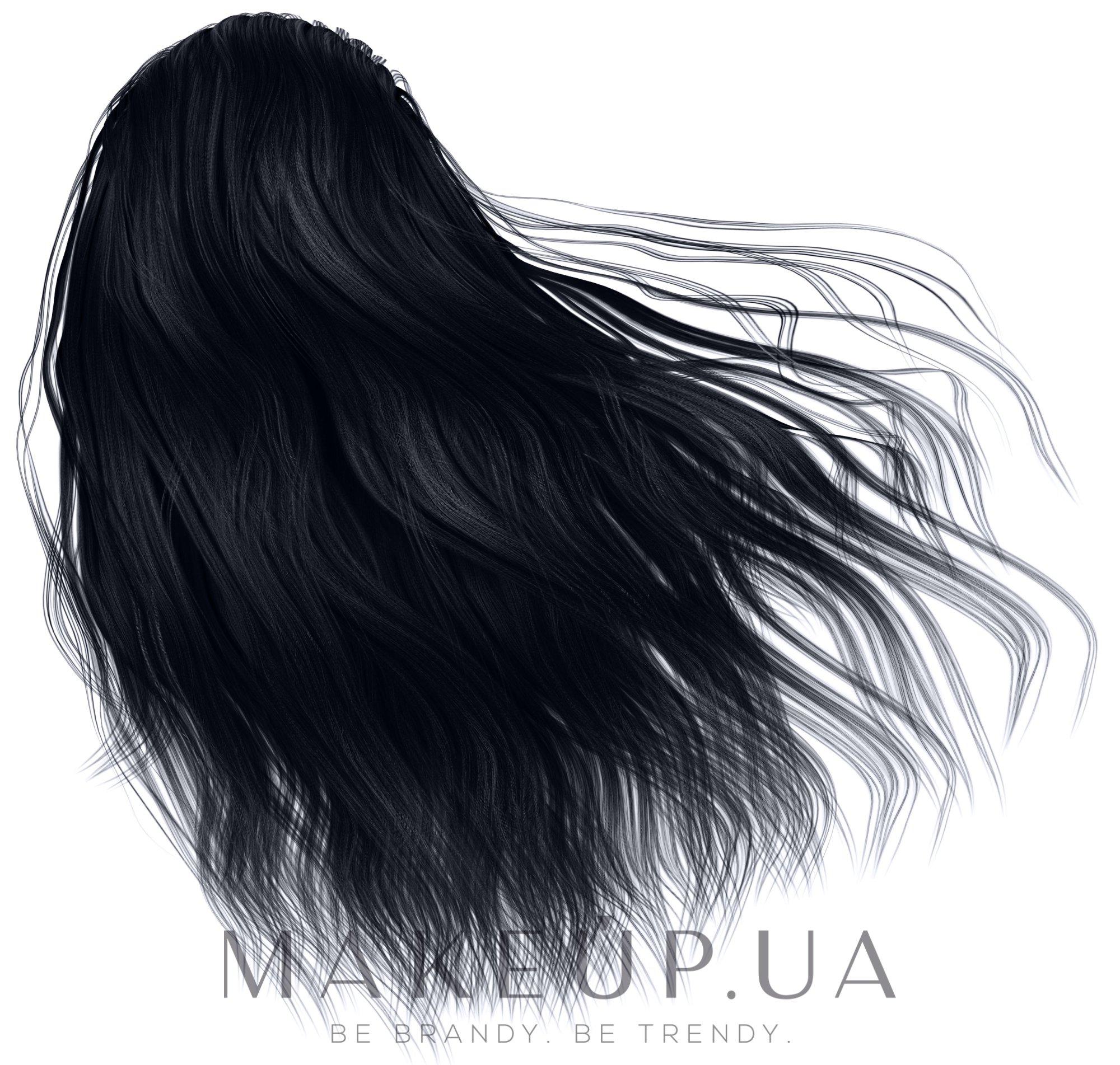 Крем-фарба для волосся на 1 застосування - Glori's Gloss&Grace — фото 1.1 - Иссиня-черный