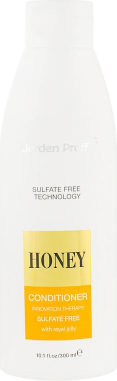 Кондиционер для волос безсульфатный медовый с маточным молочком - Jerden Proff Honey