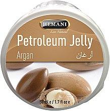 Духи, Парфюмерия, косметика Вазелин с аргановым маслом - Hemani Petroleum Jelly With Argan