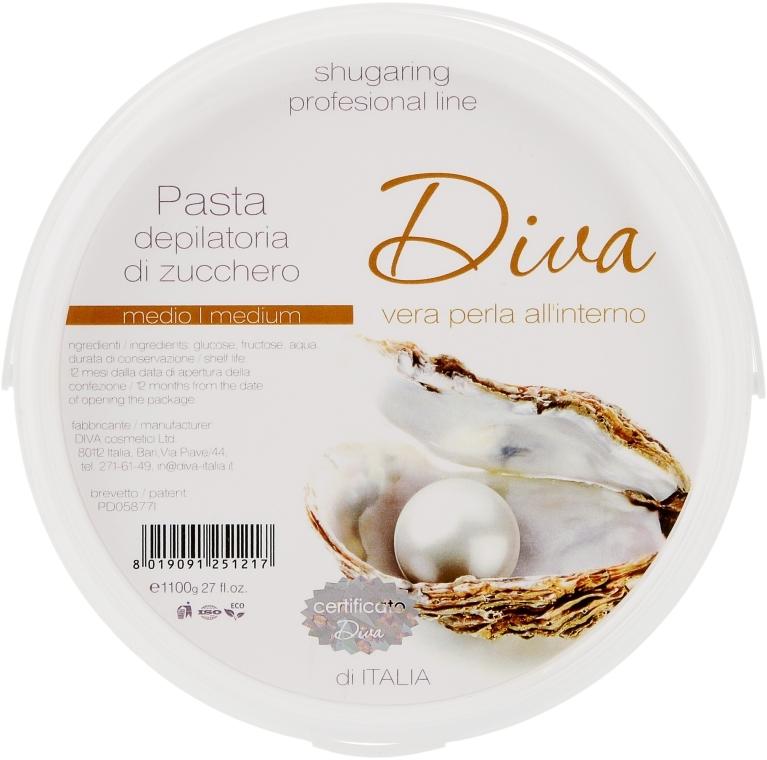 Средняя сахарная паста для шугаринга - Diva Cosmetici Sugaring Professional Line Medium
