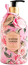 Духи, Парфюмерия, косметика Жидкое мыло для рук - IDC Institute Scented Garden Hand Wash Country Rose