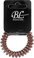 Духи, Парфюмерия, косметика Резинка для волос, 405003, коричневая - Beauty Line