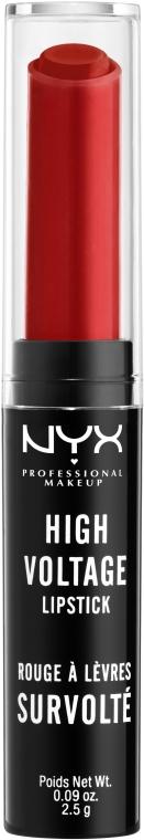 Помада для губ - NYX Professional Makeup High Voltage Lipstick