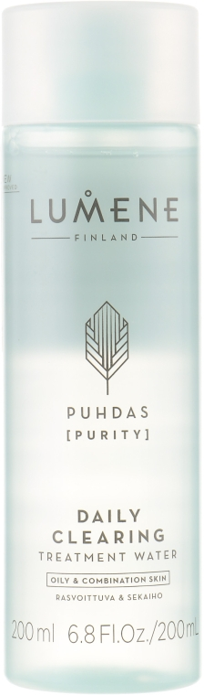 "Вода для очищения ""Ухаживающая"" - Lumene Puhdas Daily Clearing Treatment Water"