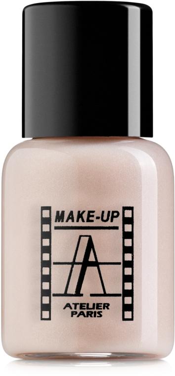 Водоустойчивый тон-флюид - Make-Up Atelier Paris Waterproof Liquid Foundation (мини)