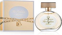 Antonio Banderas Her Golden Secret - Туалетная вода — фото N3