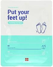 Духи, Парфюмерия, косметика Увлажняющая маска-уход для ног - Leaders Essential Wonders Put Your Feet Up! Mask