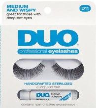 Духи, Парфюмерия, косметика Набор - Ardell Duo Lash Kit Professional Eyelashes Style D11