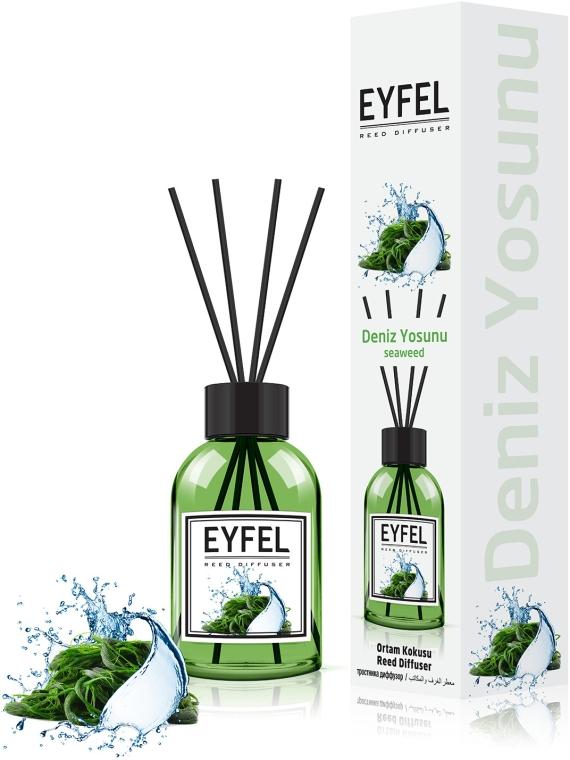 """Аромадиффузор """"Морские водоросли"""" - Eyfel Perfume Reed Diffuser Seaweed"""