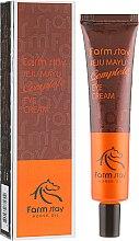 Духи, Парфюмерия, косметика Крем для кожи вокруг глаз с лошадиным жиром - FarmStay Jeju Mayu Complete Eye Cream