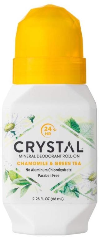 Роликовый дезодорант с ароматом ромашки и зеленого чая - Crystal Essence Deodorant Roll On
