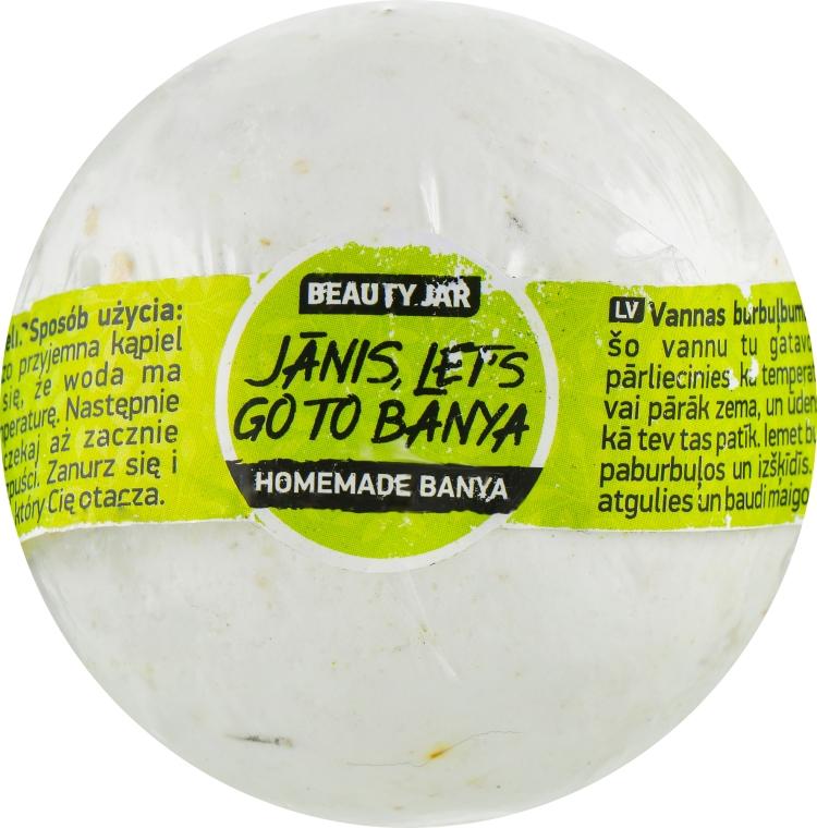 "Бомбочка для ванны ""Janis? Let's Go To Banya"" - Beauty Jar Homemade Banya Bath Bomb"