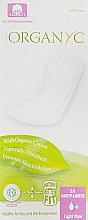 Духи, Парфюмерия, косметика Ежедневные гигиенические прокладки,24 шт - Corman Organyc Light Flow