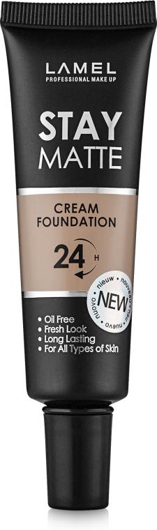 Матовый тональный крем для лица - Lamel Professional Stay Matte Cream Foundation