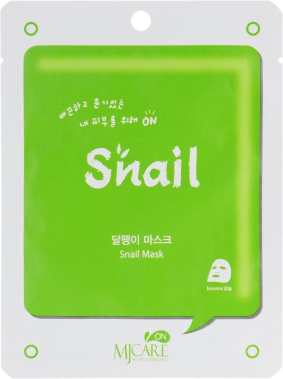 Тканевая маска с улиткой - MJ Care Snail Mask