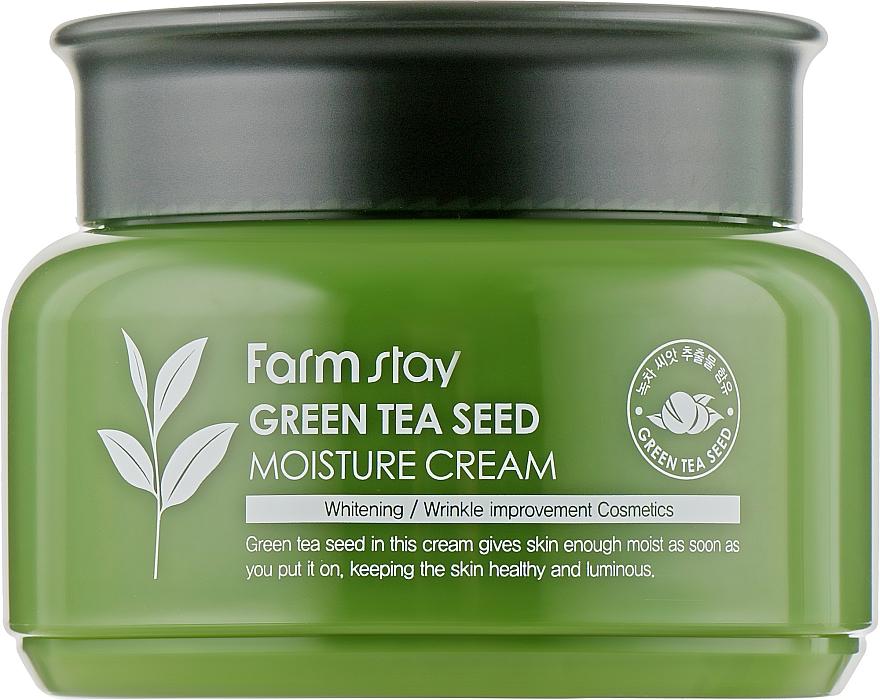 Увлажняющий крем с зеленым чаем - FarmStay Green Tea Seed Moisture Cream