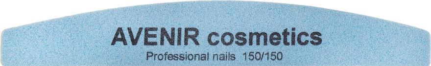 Пилка для ногтей, месяц, 150/150 - Avenir Cosmetics