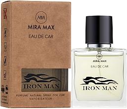 Духи, Парфюмерия, косметика Ароматизатор для авто - Mira Max Eau De Car Iron Man Perfume Natural Spray For Car Vaporisateur
