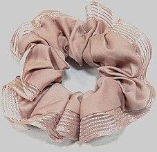 Духи, Парфюмерия, косметика Резинка для волос P26958-3, d-11 см, розовая - Akcent