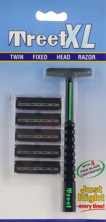 Многоразовые бритвенные станки для бритья - Treet XL