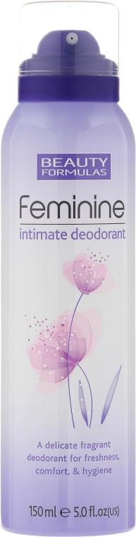 Дезодорант для интимной гигиены - Beauty Formulas Feminine Intimate Deodorant