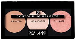 Духи, Парфюмерия, косметика Палетка для контуринга - Gabriella Salvete Contouring Palette