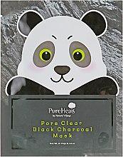 Тканевая маска с черным углем для очищения пор от загрязнения - PureHeal's Pore Clear Black Charcoal Mask — фото N1