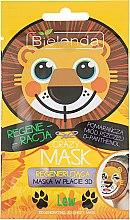 """Духи, Парфюмерия, косметика Регенерирующая маска """"Лев"""" - Bielenda Crazy Mask 3D Lion"""